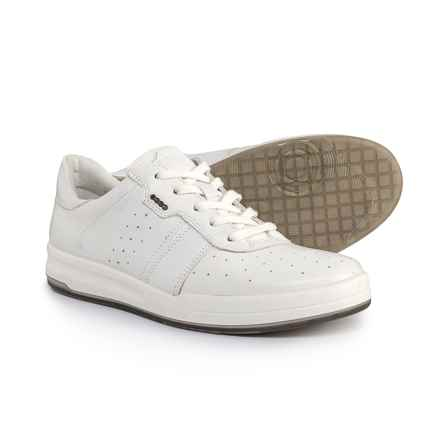 ECCO Jack Sneakers - Leather (For Men) in White - Closeouts