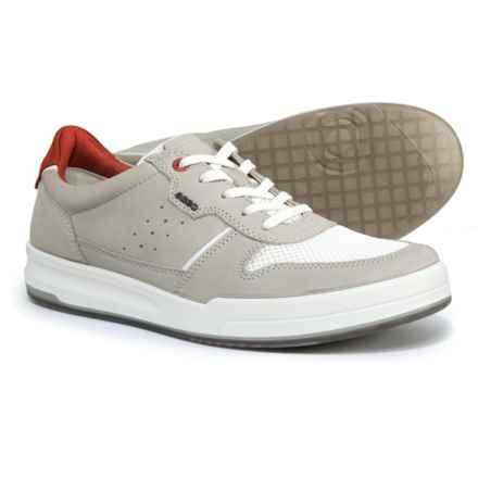 ECCO Jack Sneakers - Nubuck (For Men) in Wild Dove - Closeouts