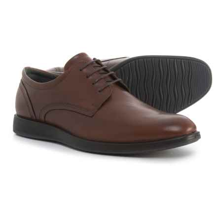 ECCO Jared Tie Oxford Shoes - Leather (For Men) in Mink - Closeouts