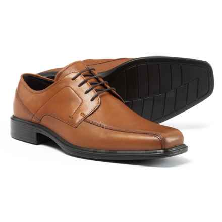 ECCO Johannesburg Bike Toe Oxford Shoes - Leather (For Men) in Amber - Closeouts