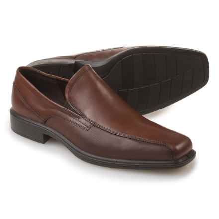 ECCO Johannesburg Loafers - Leather (For Men) in Cognac - Closeouts