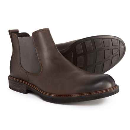ECCO Kenton Chelsea Boots - Slip-Ons (For Men) in Coffee - Closeouts