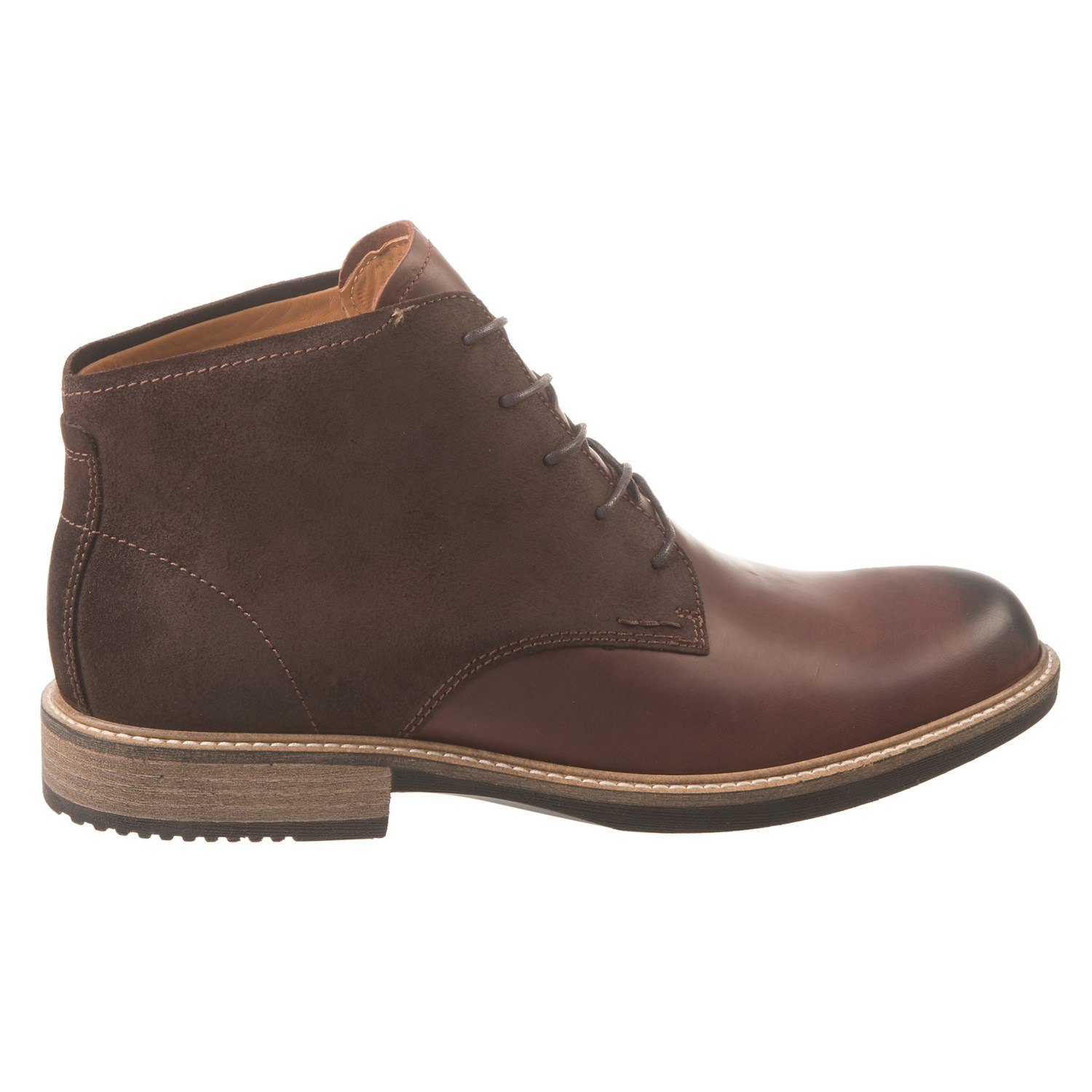 ECCO Kenton Leather Boots (For Men) - Save 55%