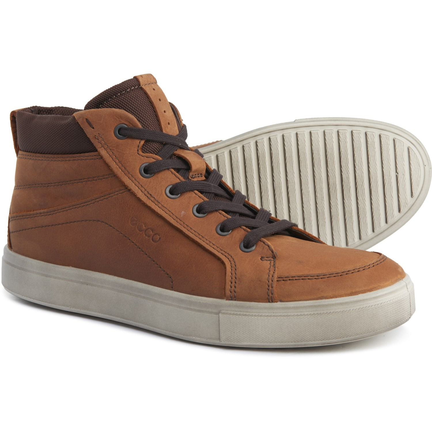 ECCO Kyle Mid Casual Sneakers Leather (For Men)