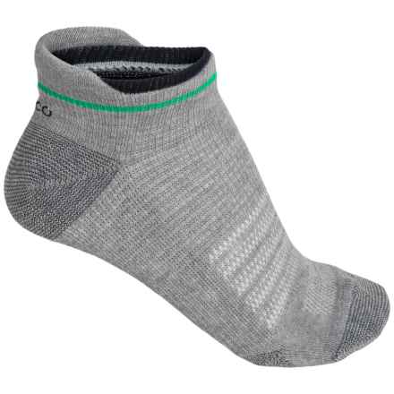 ECCO Low-Cut Tab Sport Socks - Pima Cotton, Below the Ankle (For Women) in Green - Closeouts