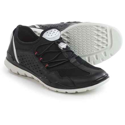 ECCO Lynx Sneakers (For Women) in Black - Closeouts