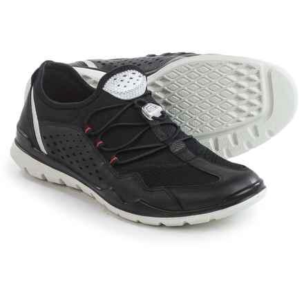 ECCO Lynx Sneakers (For Women) in Black - Closeouts