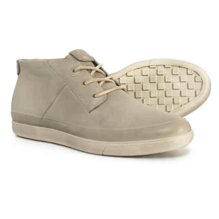 ECCO Made in Portugal Damara Chukka Boots - Leather (For Women) in Concrete - Closeouts