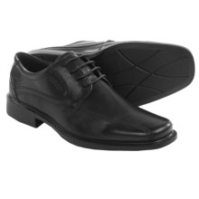 ECCO New Jersey Bicycle Toe Shoes - Leather (For Men) in Black - Closeouts