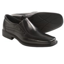 ECCO New Jersey Slip-On Shoes - Bicycle Toe, Leather (For Men) in Black - Closeouts