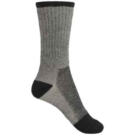 ECCO Outdoor Socks - Merino Wool, Crew (For Women) in Black - Closeouts