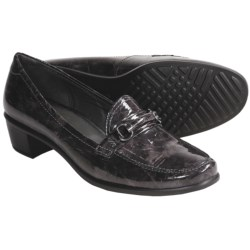 ECCO Pearl Shoes - Patent Leather, Slip-Ons (For Women) in Ascot