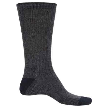 ECCO Pima Cotton Socks - Crew (For Men) in Denim - Closeouts