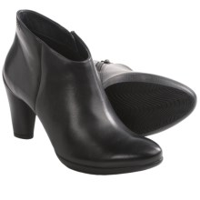 ECCO Sculptured 75 Shoetie Ankle Boots (For Women) in Black Dress - Closeouts