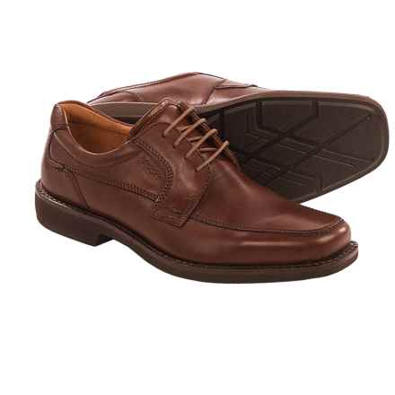 ECCO Seattle Apron Toe Oxford Shoes (For Men) in Cognac - Closeouts