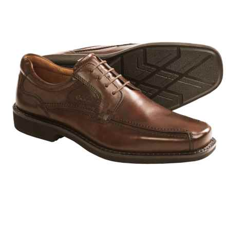 ECCO Seattle Blucher Shoes - Leather (For Men) in Cognac - Closeouts