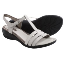 ECCO Sensata T-Strap Sandals (For Women) in White - Closeouts