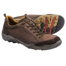 ECCO Sierra II Sneakers - Suede (For Men) in Mocha/Mocha/Dried Tobacco - Closeouts