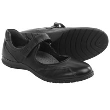 ECCO Sky Mary Jane Shoes - Leather (For Women) in Black - Closeouts