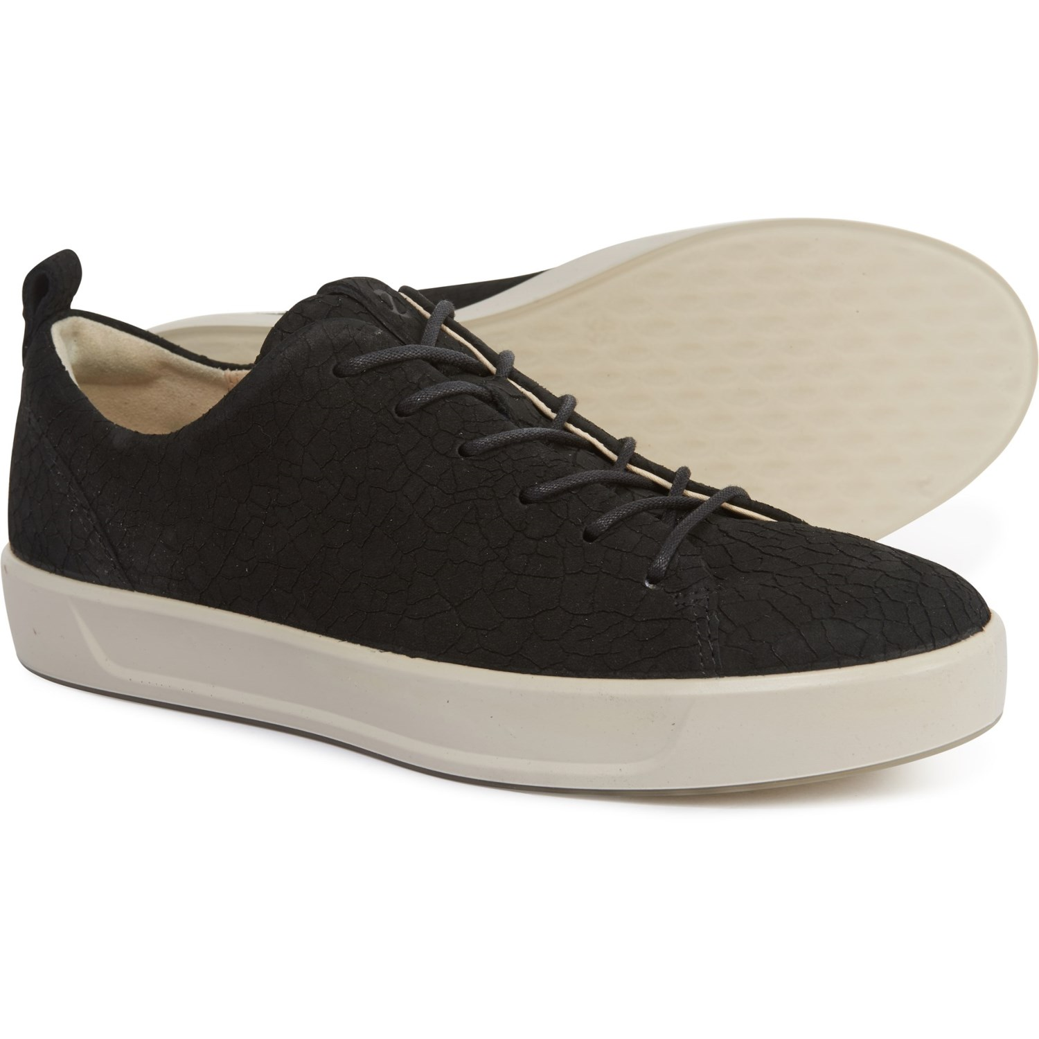 ECCO Soft 8 Lace Casual Sneakers Leather (For Women)