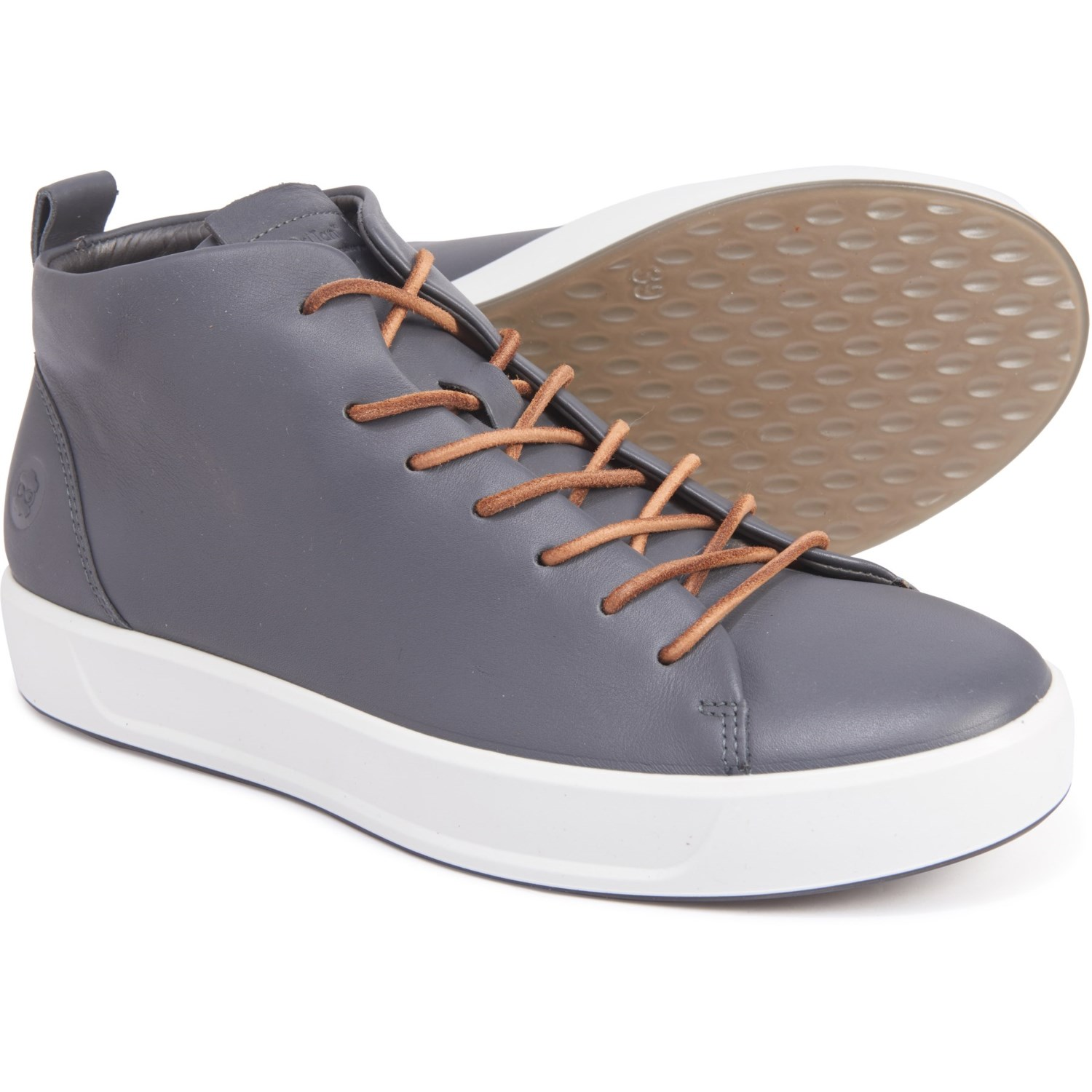 ECCO Soft 8 Mid Sneakers (For Men