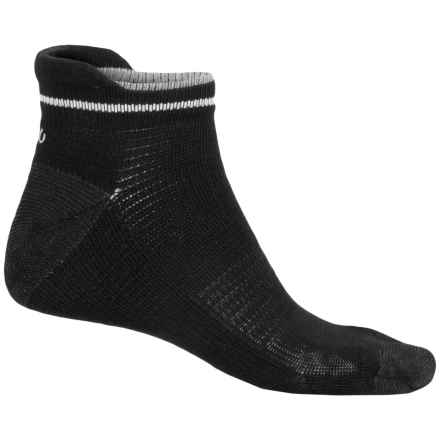 ECCO Tab Sport Socks - Pima Cotton, Below the Ankle (For Men) in Black - Closeouts