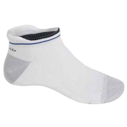 ECCO Tab Sport Socks - Pima Cotton, Below the Ankle (For Men) in Blue - Closeouts