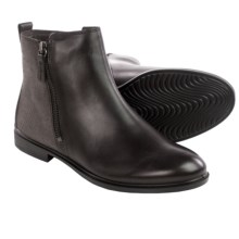 ECCO Touch 15 Scale Ankle Boots - Leather (For Women) in Coffee/Espresso - Closeouts
