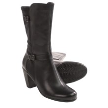 ECCO Touch 75 Buckle Boots (For Women) in Black - Closeouts