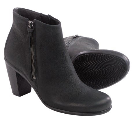 ECCO Touch 75 Leather Ankle Boots (For Women)