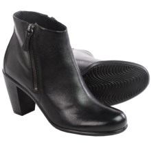 ECCO Touch 75 Leather Boots (For Women) in Black - Closeouts