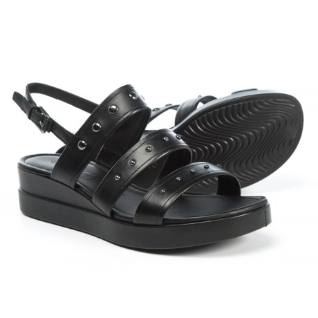 ECCO Touch Plateau Sandals - Leather (For Women)