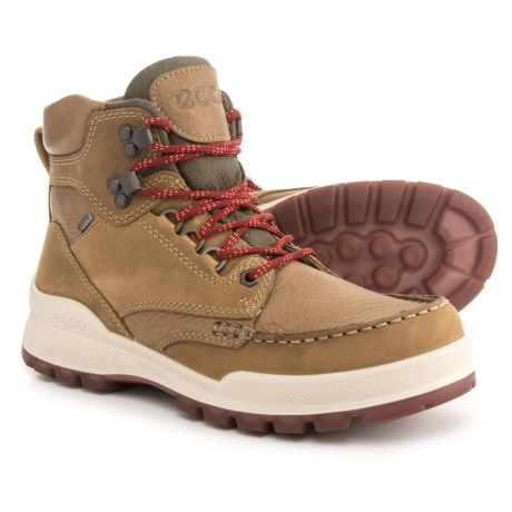 ECCO Track 25 Gore-Tex® Moc-Toe Hiking Boots - Waterproof, Leather (For Women) in Navajo Brown