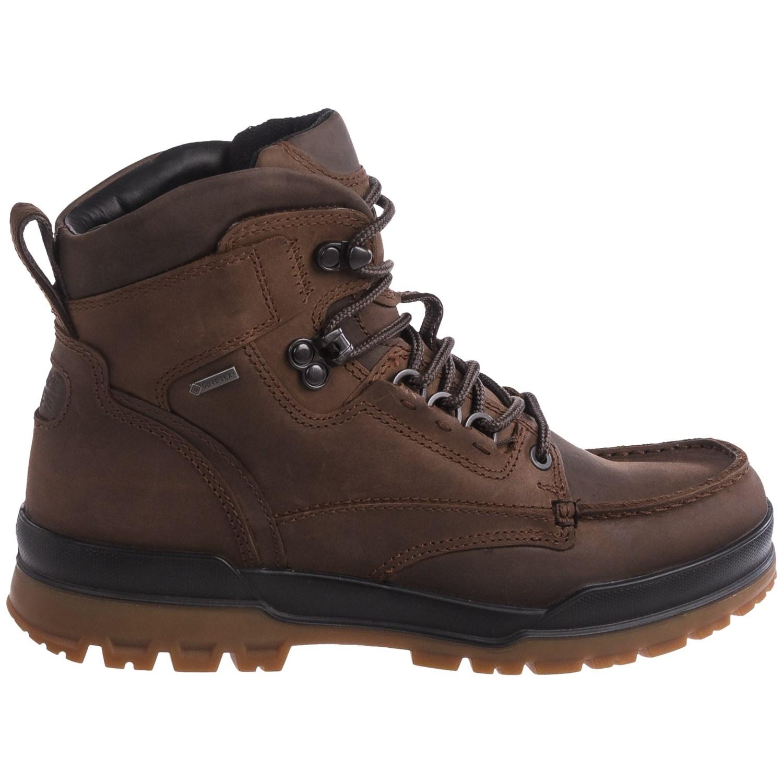 ECCO Track 6 Gore-Tex® Moc-Toe Hi Boots (For Men) - Save 37%
