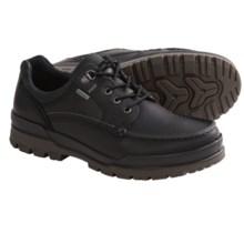 ECCO Track 6 Gore-Tex® Moc Toe Lo Shoes - Waterproof (For Men) in Black - Closeouts