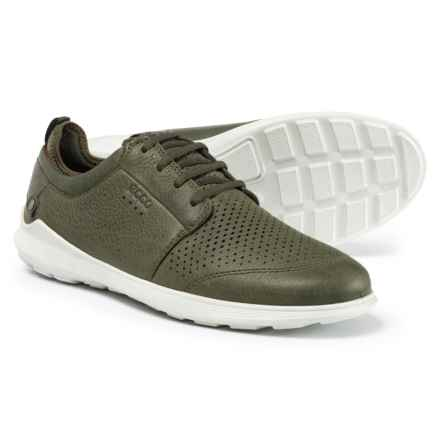 ECCO Transit Casual Sneakers - Leather (For Men) in Deep Forest - Closeouts