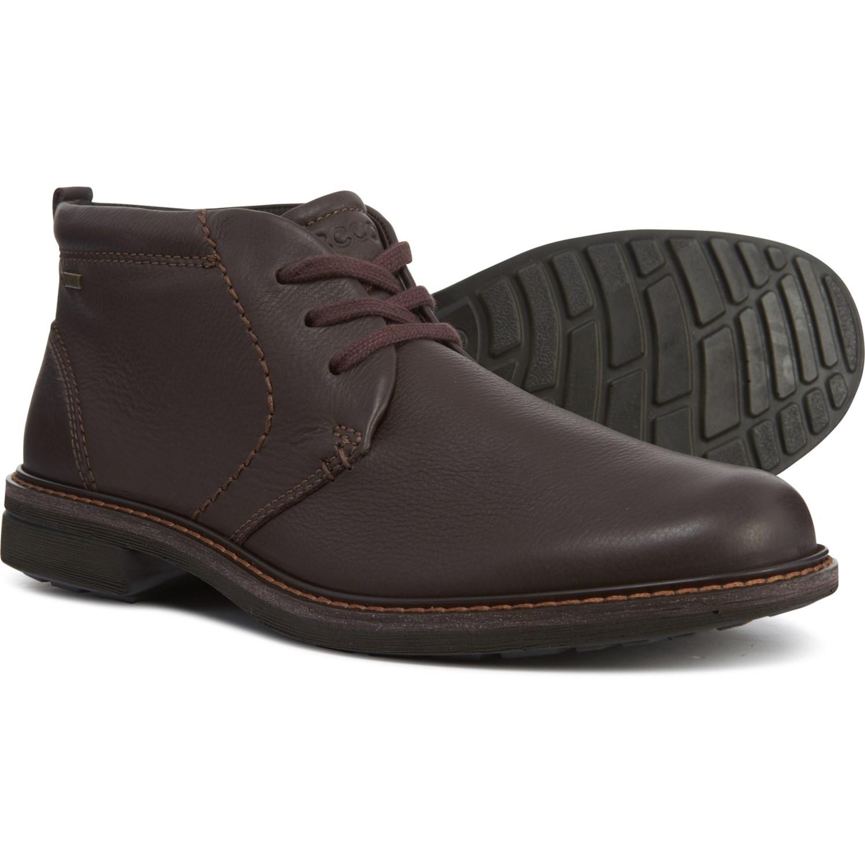 f3c72616cd ECCO Turn Gore-Tex® Chukka Boots (For Men) - Save 53%