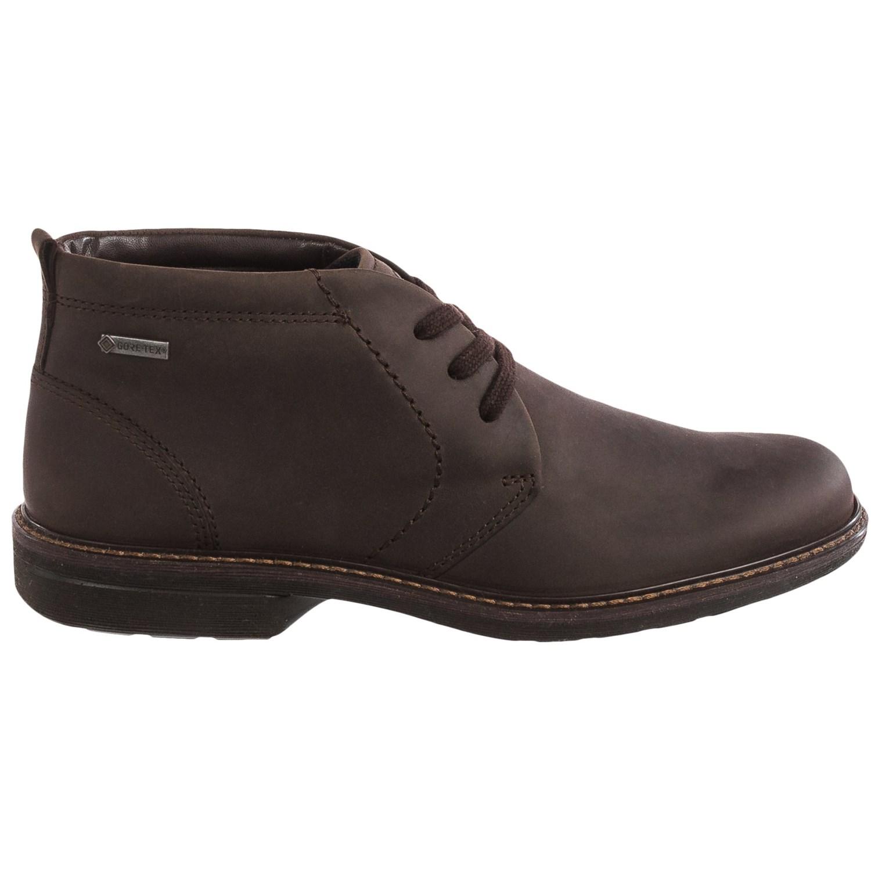 ECCO Turn Gore-Tex® Chukka Boots (For Men) - Save 43%