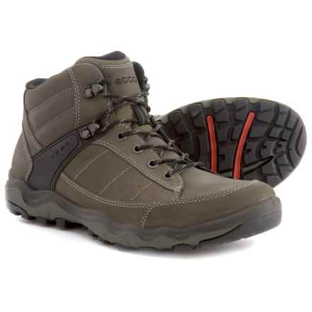 ECCO Ulterra Hiking Boots - Leather (For Men) in Tarmac - Closeouts