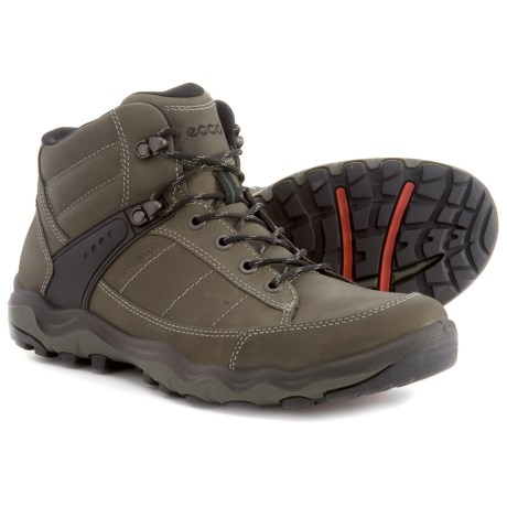 ECCO Ulterra Hiking Boots - Leather (For Men) in Tarmac
