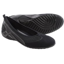ECCO Vibration II Skimmer Shoes - Leather (For Women) in Black - Closeouts