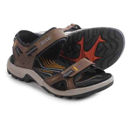 ECCO Yucatan II Sport Sandals (For Men) in Espresso - Closeouts