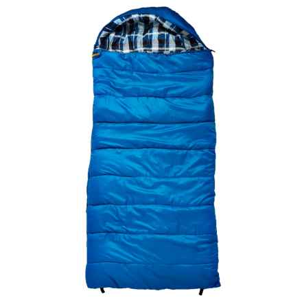 Echo Outdoors 0°F Big Sur XL Hybrid Sleeping Bag - Rectangular in Blue - Closeouts