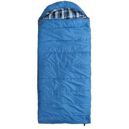 Echo Outdoors 20°F Big Sur XL Hybrid Sleeping Bag - Rectangular in Blue - Closeouts
