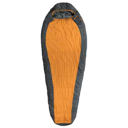 Echo Outdoors 35°F Apex Sleeping Bag - Mummy in Orange/Gray - Closeouts