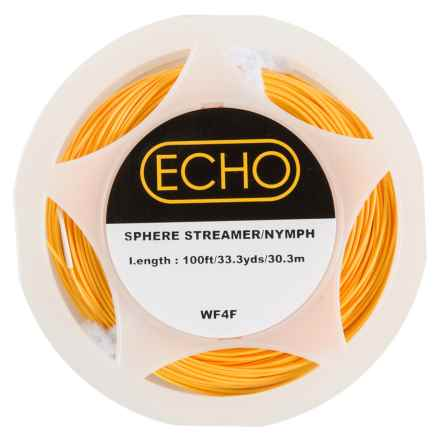 Echo Streamer/Nymph Weight Forward Fly Line - 90', Floating in Pumpkin - Closeouts