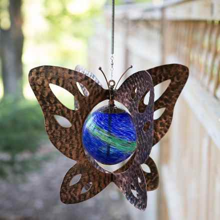 Echo Valley Illuminarie Hanging Wind Spinner in Butterfly - Closeouts
