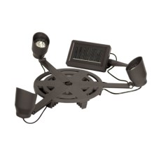 Echo Valley Solar Uplighter Plant Caddy in See Photo - Closeouts