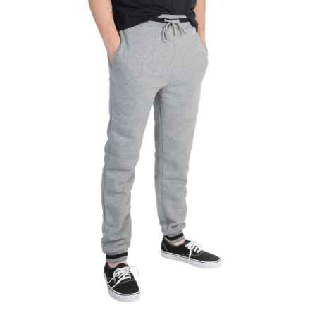 Ecko Fleece Joggers (For Men) in Grey - Closeouts