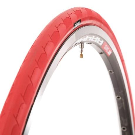 Eclypse Excel-Sport Road Bike Tire - 700x23, Folding, Clincher in Red/Tan